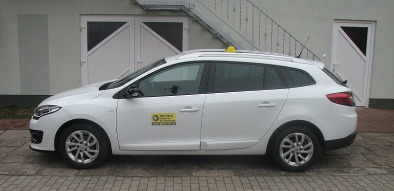 Renault Megane - preprava sieťok a žaluzií