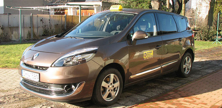 Renault Scenic - preprava okenných sušiakov a záhradiek