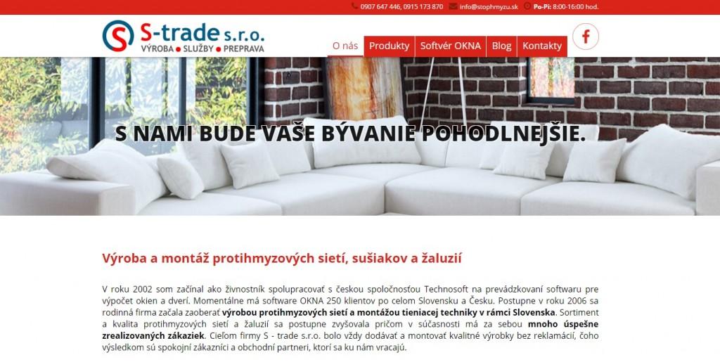 Vynovená internetová stránka www.stophmyzu.sk
