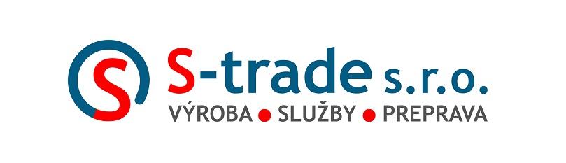 Nové logo firmy S - trade s.r.o. - výroba sieťok proti hmyzu, doprava a služby.